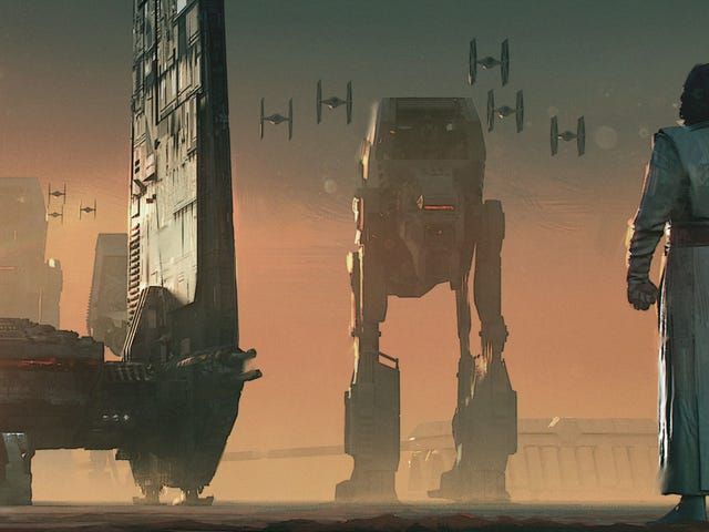Hier ist die Konzeptkunst für einige der größten Spoiler der letzten Jedi