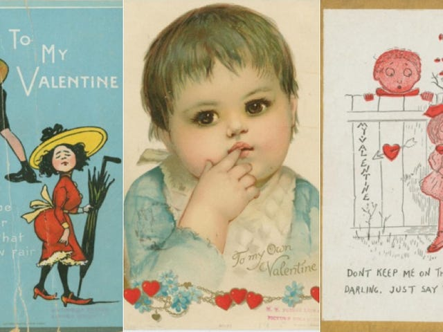 Sweet, Syrupy and Scary Vintage Valentines to Help You Celebrate Love the Old Fashioned Way