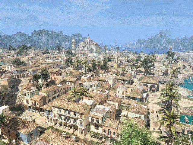 <i>Assassin's Creed IV</i> 하바나, <i>Minecraft</i> 에서 재창조 됨
