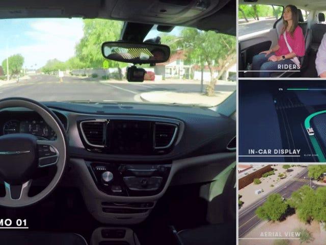 Waymo Is Launching A Fleet Of Actual Driverless Cars In Arizona