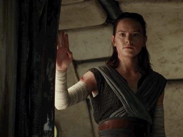 Η Daisy Ridley λέει ότι η άνοδος του Skywalker δεν αντιμετωπίζει το Reylo ως αστείο