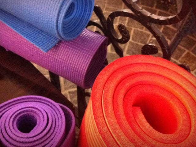 It's Okay, Yoga Mats Aren't Messing With Your Fertility