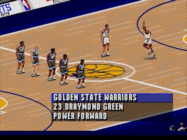 Tonight's NBA Finals Game 1, Simulated In NBA Live '96