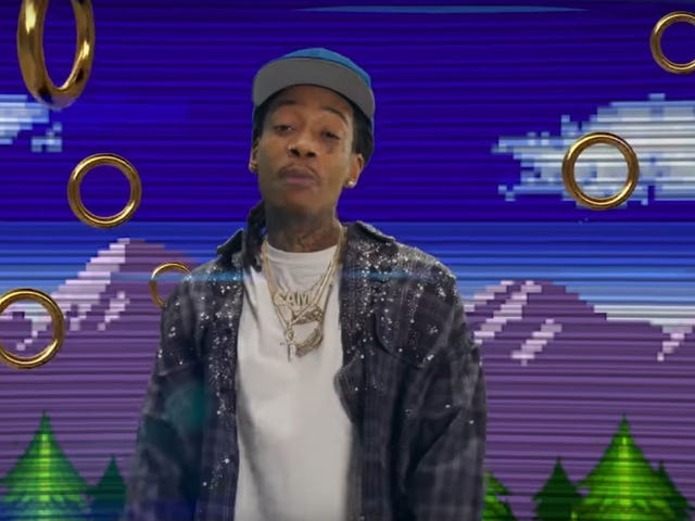 Sonic gets far better music video movie tie-in than he deserves, courtesy of Wiz Khalifa and friends