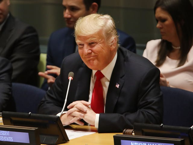 Watch: That Awkward Moment When the President of the United States Addresses the UN and Gets Laughed At