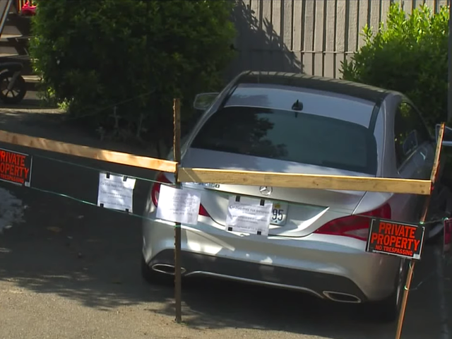 Car2stay: Frustrated Man Builds Fence Around Car2go Parked in His Driveway, Demands Fee