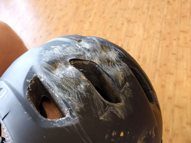 Helmet testing.