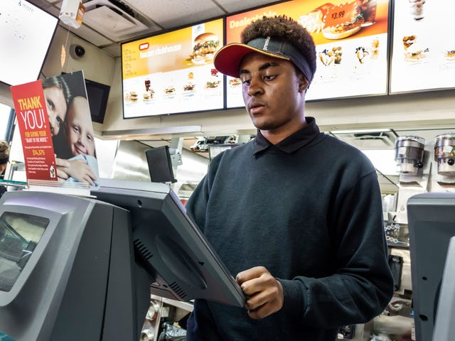 Technology is making fast food jobs even more stressful
