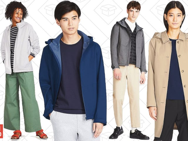 Survive The Rain With Uniqlo's Discounted BlockTech Outerwear