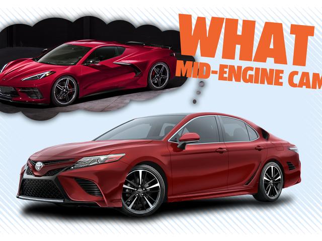 Glem midtmotoren Corvette; Ta på Mid-Engine Camry