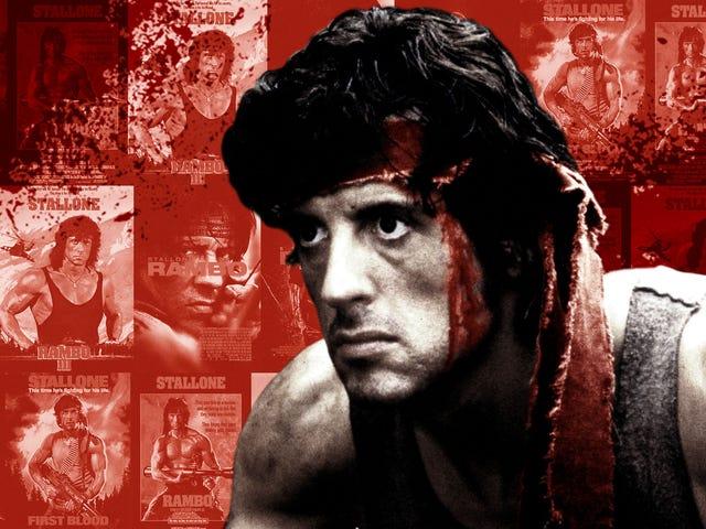 Et sted mellem første og sidste blod blev Rambo-serien en evig krig, som ikke var værd at kæmpe