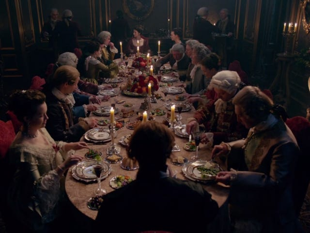 This Week On Outlander: Five Ways To Ruin A Dinner Party