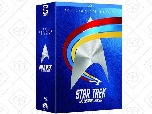 Live Long, and Save On the Complete Star Trek Original Series Blu-ray