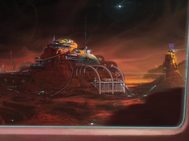 Ir a Marte con estas escenas fantásticas de <i>Red Mars</i> Kim Stanley Robinson
