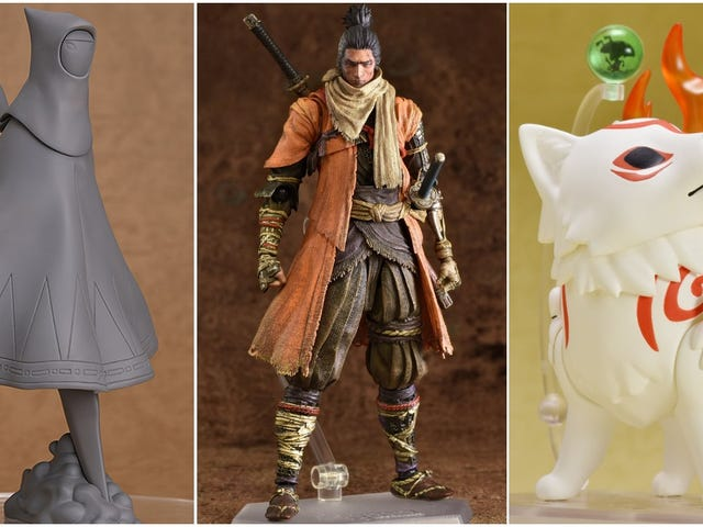 This Month Shows Off Excellent New Anime And Video Game Figures