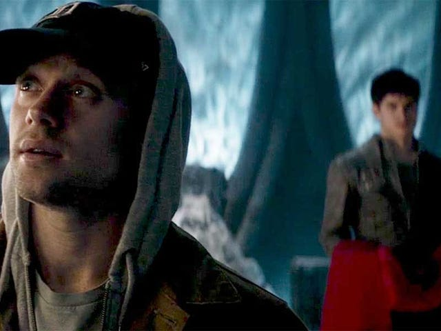 How does Adam Strange stand up on Krypton?