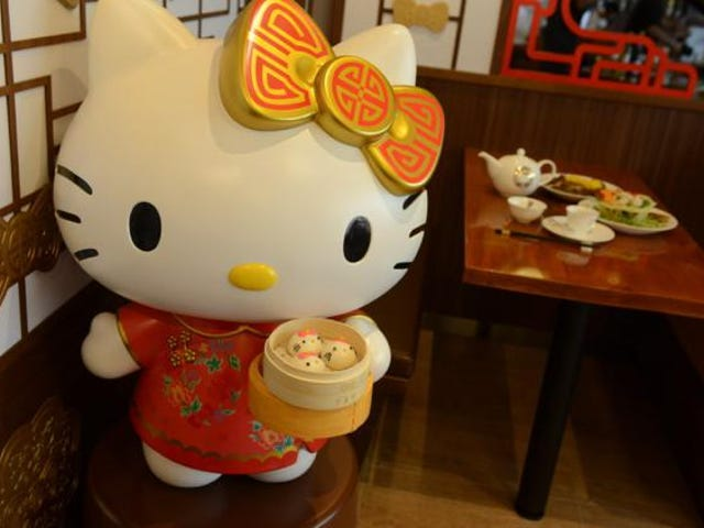 Essayez le Dim Sum Hello Kitty à Hong Kong