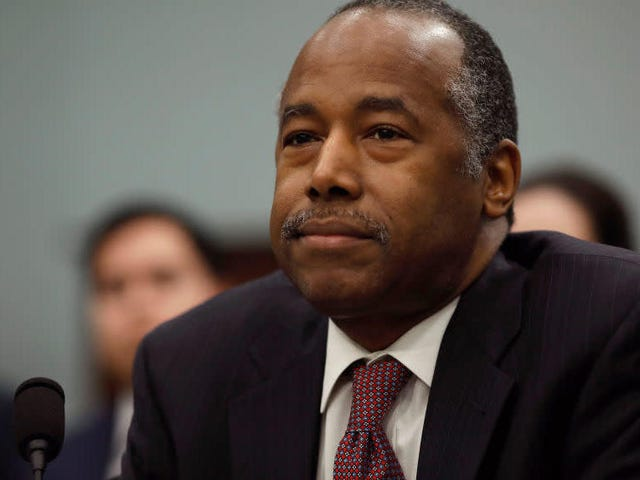 Baltimore Church Gives Ben Carson the Boot as He Scrambles to Demonstrate What He's Done for That City Lately