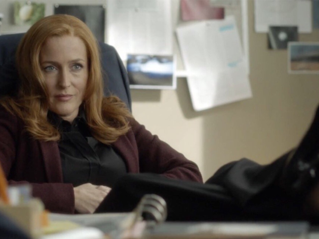 Gillian Anderson Has Some Thoughts About Fox's Lack of Plans for More X-Files