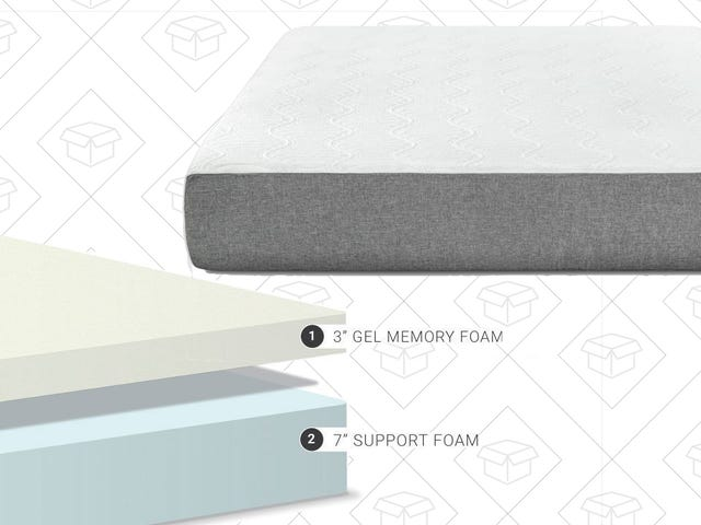 Amazon Will Ship You a Foam Mattress For Not Much Money Today, With a 120 Night Trial Period
