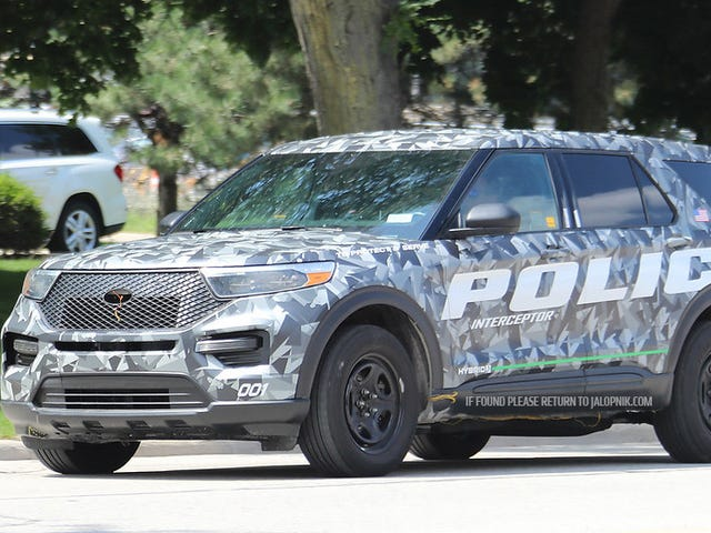 This Is the 2020 Ford Explorer Before You're Supposed to See It