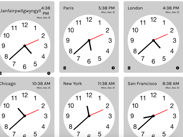 Say 'Happy New Year' to Friends in Different Time Zones