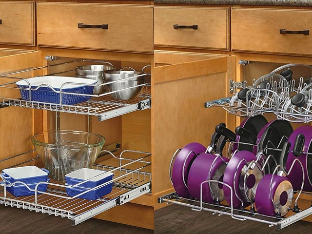 Organize Your Kitchen With These Discounted Cabinet Drawer Sets