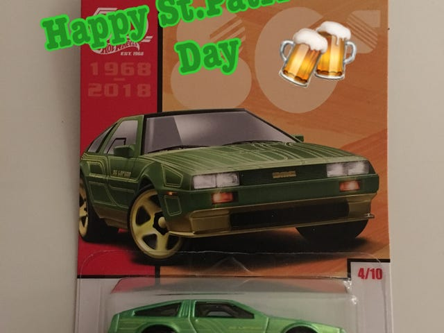 Unofficial St. Patrick's Day car