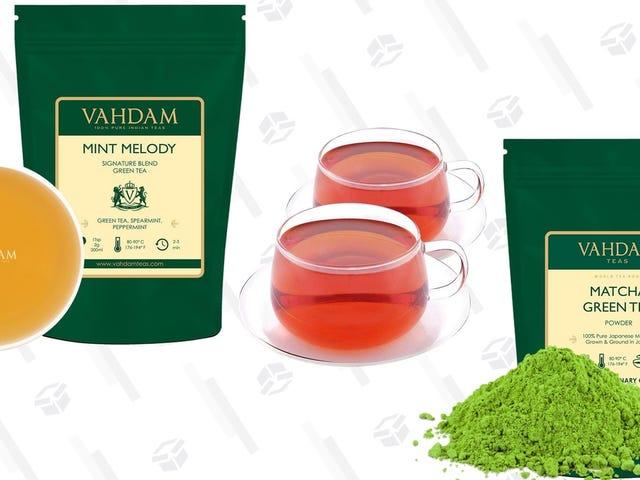 Estas rebajas de Vahdam están llenas de productos que querrás para tu cuerpo