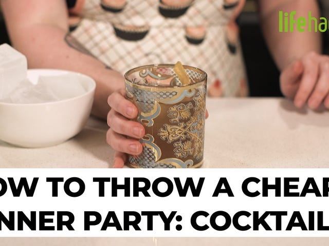 How to Throw a Cheap Dinner Party: Cocktails