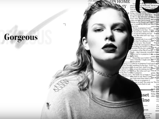 Taylor Swift Sings of a Crush Too Beautiful to Talk to in Latest Single 'Gorgeous'