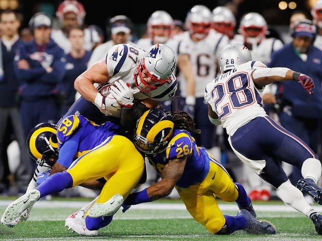 Rob Gronkowski Says He Couldn't Sleep For Weeks After A Fairly Routine Hit In The Super Bowl