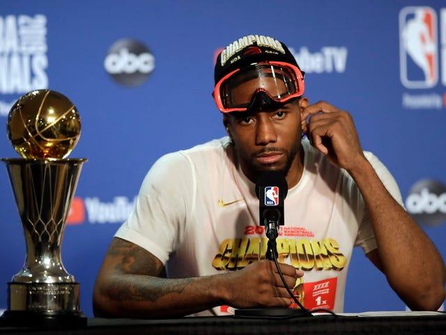 Kawhi Leonard est l'exécutif de l'année de la NBA