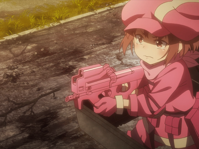 Sword Art Online Alternative Gun Gale Online Nails the Fundamental Silliness of Shooters