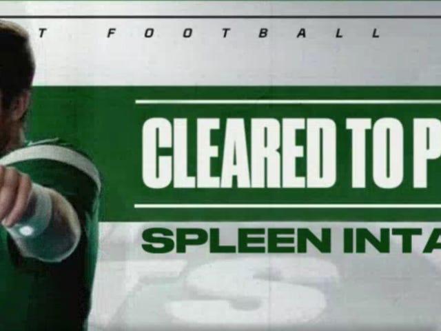 Sam Darnold Spleen Update: Spleen Ready For Hot NFL Action