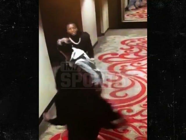 Video Shows Chiefs Running Back Kareem Hunt Shoving, Kicking Woman In Hotel [Updates]