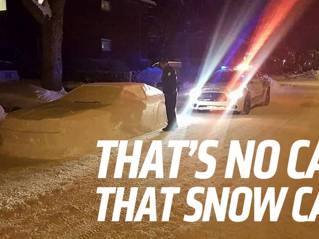 Neige Toyota Supra Fools Police canadienne <em></em>