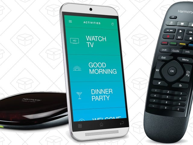 It's Back! This $65 Harmony Remote Includes the Alexa-Enabled Harmony Hub.