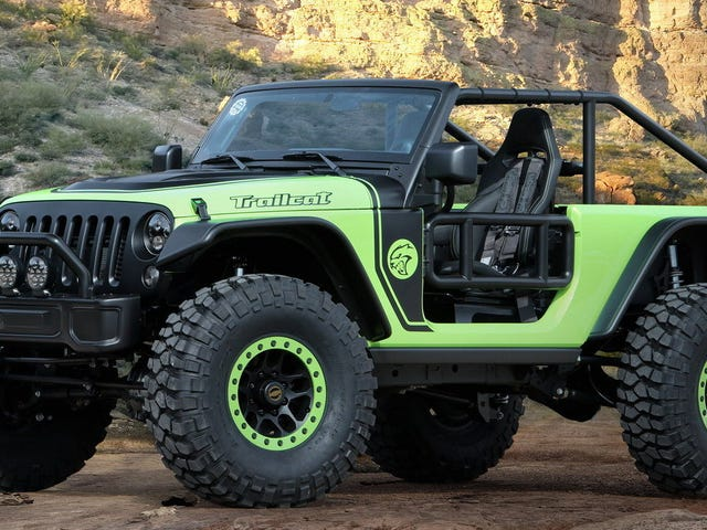 The 707 HP Hellcat Engine Is Too Dangerous For the Jeep Wrangler and Gladiator