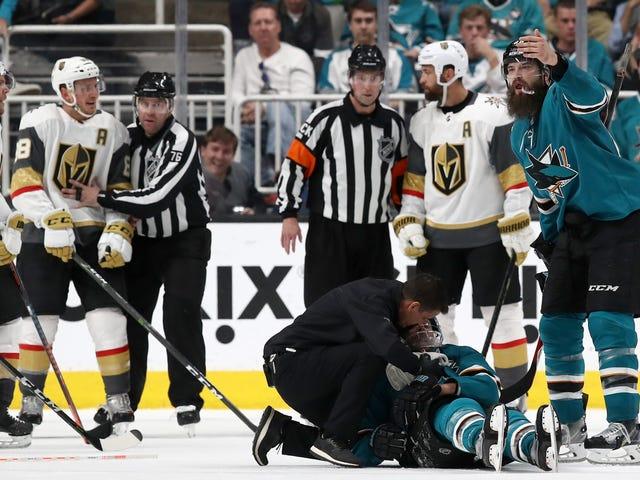 Vegas déclare que la LNH s'est excusée pour le mauvais appel du septième match et que ces arbitres ne fonctionneront pas au tour suivant