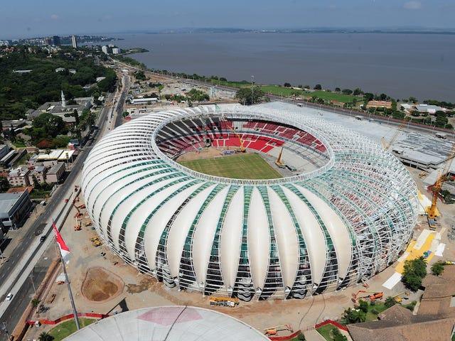 Why Your World Cup Stadium Sucks: Estádio Beira-Rio, Porto Alegre