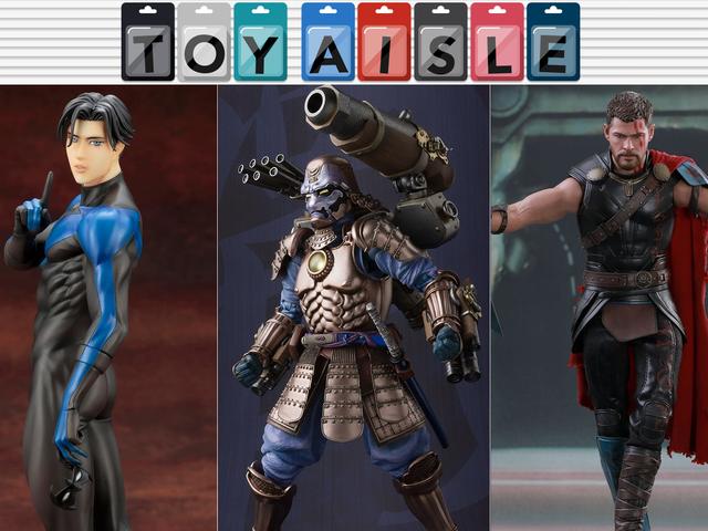 战争机器获得疯狂的武士改头换面,以及更多本周最佳玩具