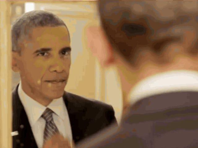 Gratulerer med dagen hr. Præsident