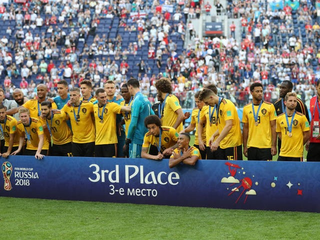 Belgium Tergebuk England Dalam Perlawanan Sweet, Memuaskan Ketiga