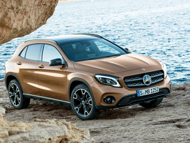 A Ton More Small Mercedes Crossovers Coming Because Gas Will Be Cheap Always And Leases Never End
