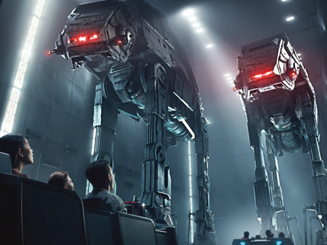 Star Wars: Galaxy's Edge's Big New Ride kommer till Disney World i december