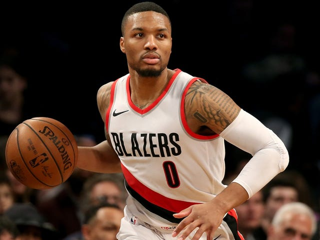Damian Lillard Is Scooping The NBA's Scoopsters