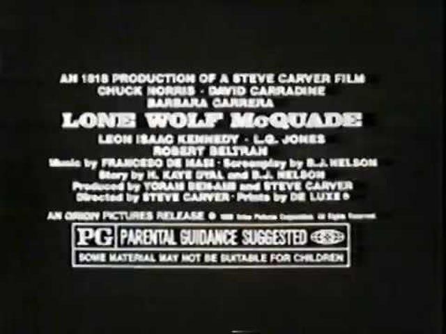 孤狼McQuade(1983)