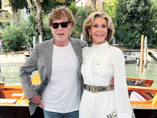 Jane Fonda Says She 'Lives For' Sex Scenes With Robert Redford