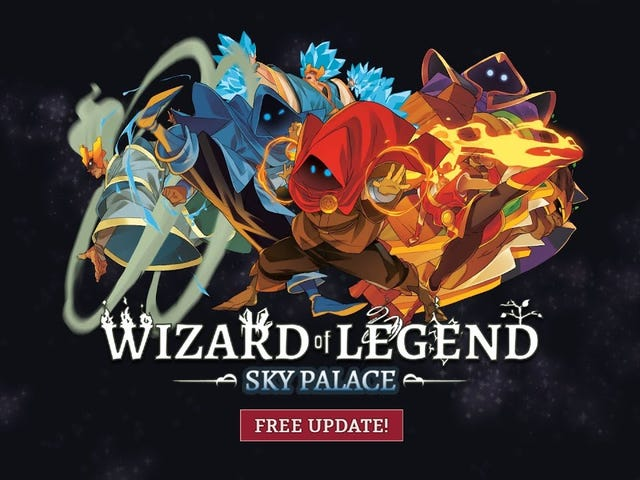 The super-twitchy, theory-crafting rich roguelike Wizard of Legend got a massive free update on every platform today. There's a…